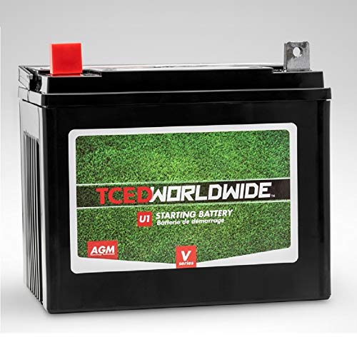 Price comparison product image Sealed AGM Battery for John Deere 757 Mid Z Trak Lawn Mower Tractor 2yr Warranty