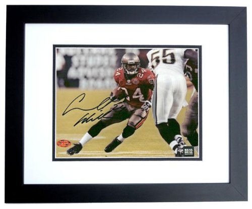 Cadillac Williams Autographed Photo - with Inscription - PSA/DNA Certified - Autographed NFL Photos - Cadillac Williams Autographed Photo