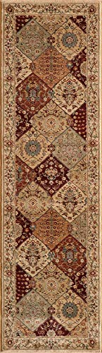 (Momeni Rugs BELMOBE-01BUR2376 Belmont Collection Area Rug, 2'3