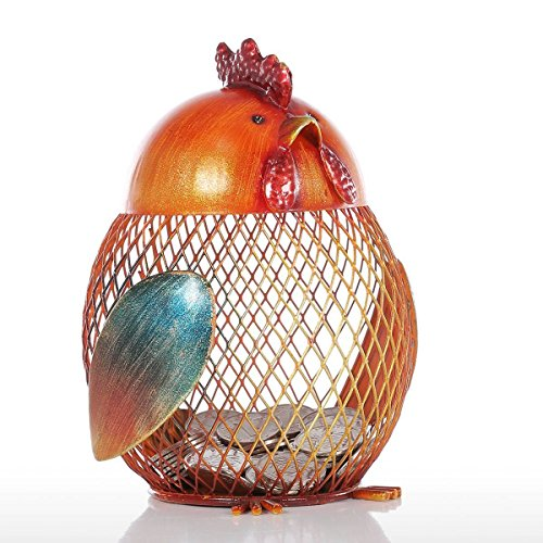 Chick Figurine Piggy Bank Modern Lovely Metal Mini Animal Craft Home Decoration Accessories For Home Office - Bikini Berlin House