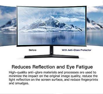 2 Pack 17.3 FORITO Anti Glare Screen Protector Compatible