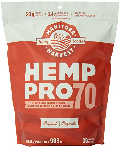 Manitoba Harvest Hemp Pro 70 Protein, 908 Gram 32.02 Ounces {Imported from Canada}