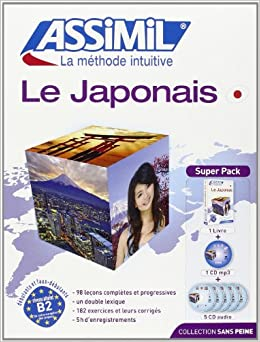 Le Japonais Superpack (livre 5CD audio+1CD mp3)