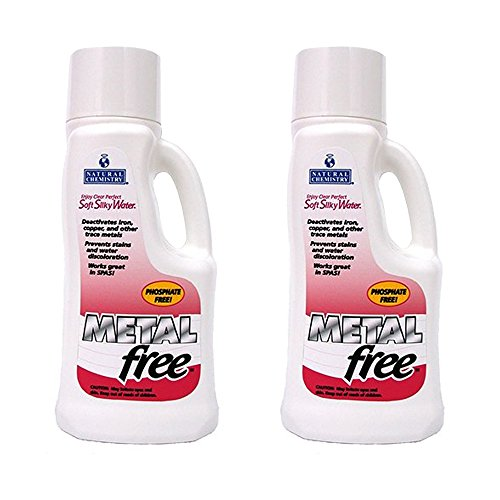 Metal Free Pool Chemical - Metal-Free Pool Chemical 2 x 1 Liter by Natural Chemistry