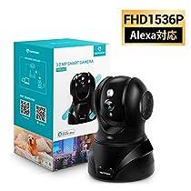 【新バージョン】HeimVision ネットワークカメラ1536P 300万画素...