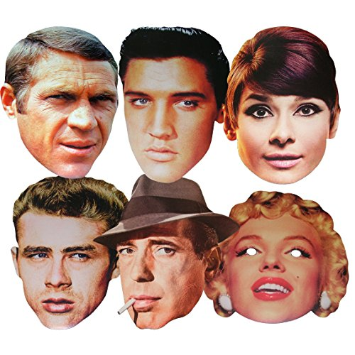 Mcqueen 3d Costume (Hollywood Stars - MULTIPACK - Celebrity Face Masks)