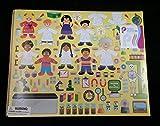 12 Design Your Own Science Lab Scientist Little Einsteins Jr Sticker Scenes Kids Children Play Set