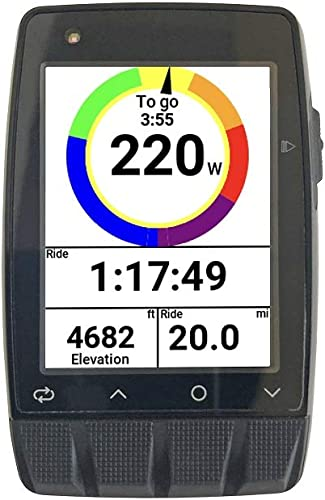 Stages Dash M50 ANT Bluetooth GPS Cycling Computer EverBrite Screen Cycling Specific Navigation