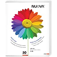 Amazon Price History for:Nuova LP50H Thermal Laminating Pouches 9 x 11.5 Inches, Letter Size, 50-Sheets (3-mil)