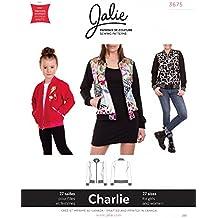 Jalie Charlie Bomber Jacket Coat Girls Women Sewing Pattern 3675