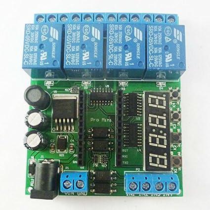 Electrical Equipments Dc 5-24V 4 Channel Pro Mini Plc Board