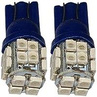 AERZETIX: 2 x Bombillas azul T10 W5W 12V
