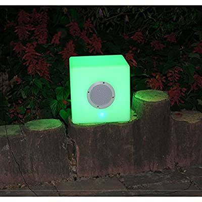 Bellini 16-inch Waterproof And Shockproof LED Cube with Blue Tooth Speaker