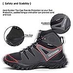 ziitop Chaussures de Randonnée Homme Bottes Tactiques pour Hommes Chaussures de randonnée et de Trekking à Taille Haute… 10