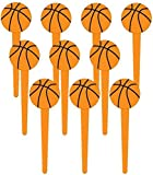Basketball Cupcake Picks (Value Pack: 72 Count)