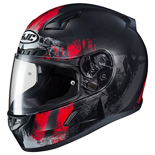 HJC CL-17 Helmet - Arica (MEDIUM) (BLACK/RED)