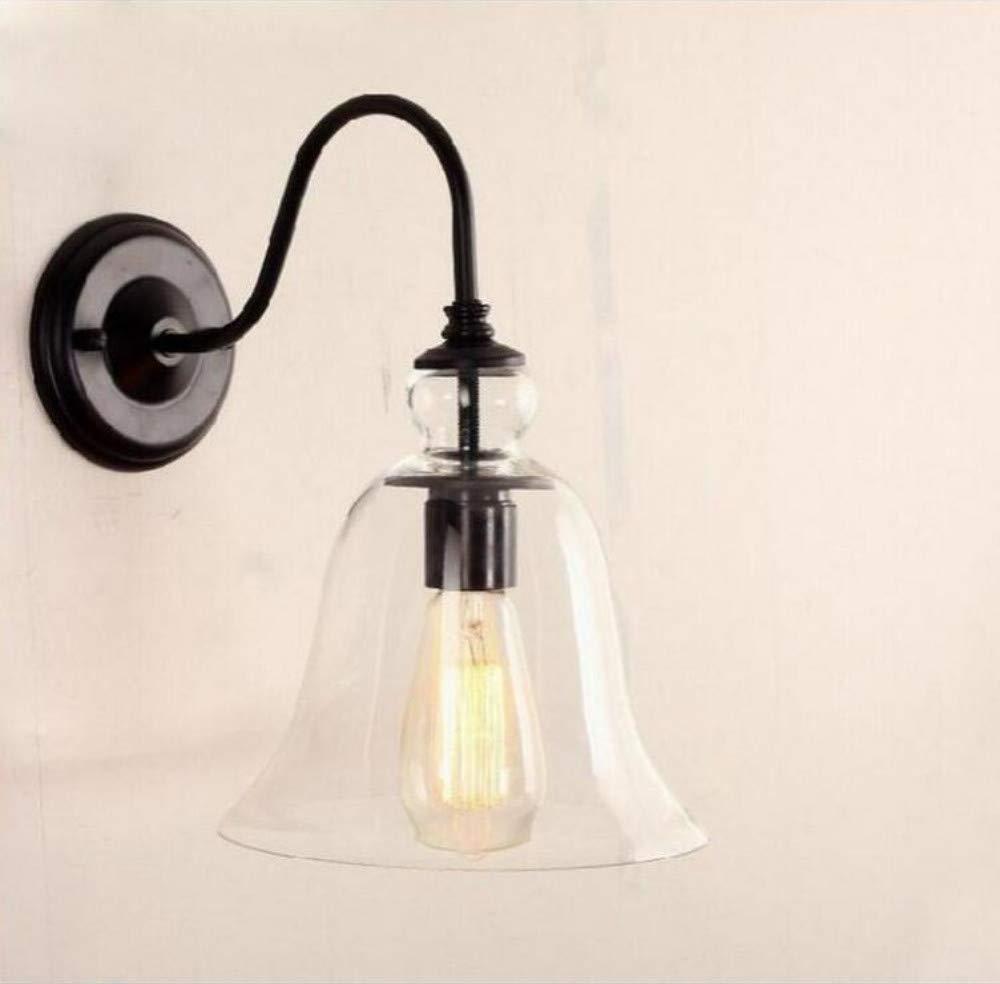 Wall Lampeuropean - Style Glass Hood Glocken Licht Wandleuchte Kreative Innenspiegelfrontleuchte Wandleuchte