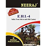 EHI4-India -From 16th to mid-18th Century (IGNOU help book for EHI-4 in English Medium)