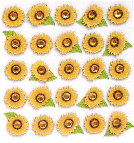 Jolee's Boutique Dimensional Stickers, Sunflowers by Jolee's - Dimensional Sunflowers Stickers