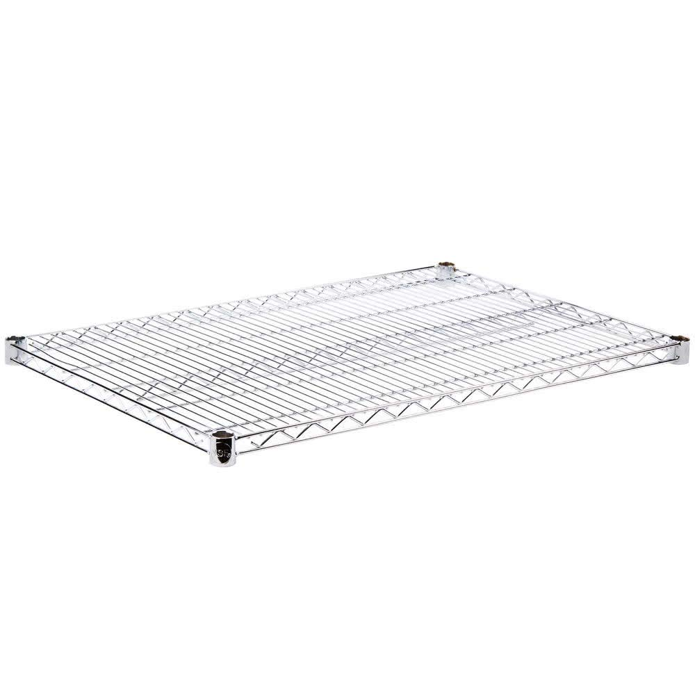 Commercial Chrome Wire Shelving 24 x 42 - NSF (2 Shelves) by L and J (Image #5)