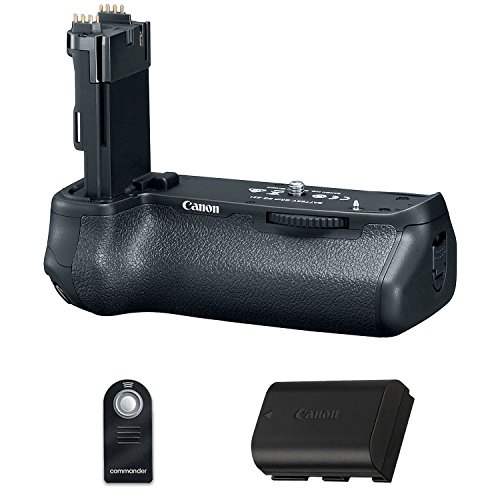 Canon BG-E21 Battery Grip for EOS 6D Mark II with Battery and Wireless remote by Eternal Photo