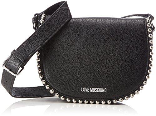 (LOVE Moschino Women's Pallina Crossbody Bag Black One Size)