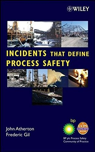 Incidents That Define Process Safety ISBN-13 9780470122044