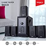 Impex 5.1 BASS B 140 W Multimedia Bluetooth Speaker System (Black)
