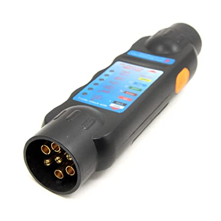 Amazing Kkmoon 12V 7 Pins Car Truck Trailer Plug Socket Tester Wiring Wiring Digital Resources Indicompassionincorg