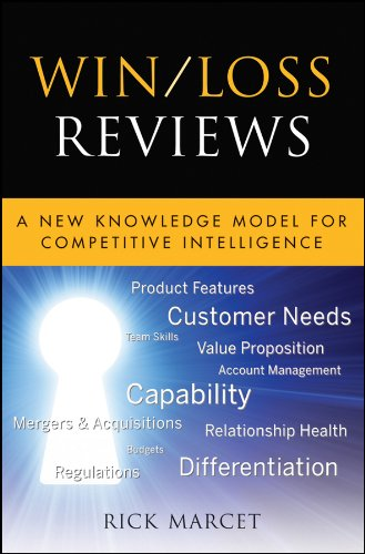 Win/Loss Reviews: A New Knowledge Model for Competitive Intelligence (Microsoft Executive Leadership Series) Pdf