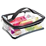 Best Bags For Less Makeup Travel Bags - mDesign Travel Accessories Bag, for Personal Care/Beauty Products Review