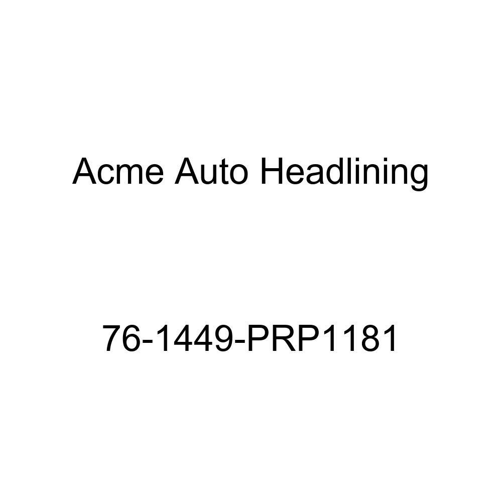 Acme Auto Headlining 76-1449-PRP1181 White Replacement Headliner 1976 Chevrolet Malibu Wagon