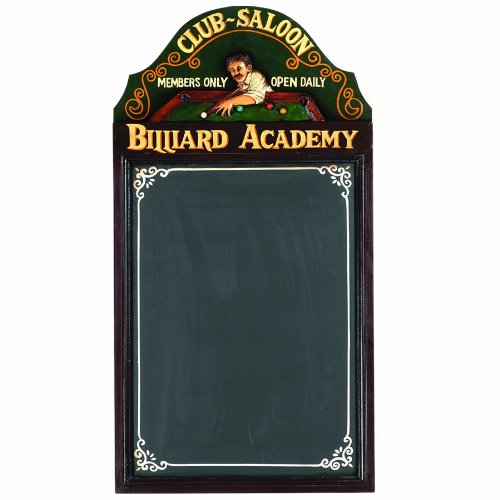 RAM Gameroom Products Pub Sign with Chalkboard,