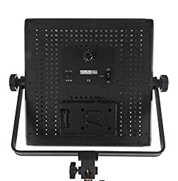 StudioPRO (Set of 2) S-600D Ultra High Power 600 LED Photography Light Panel with Dimmer Switch for All Photo Video & Film Production Lighting Kit - Continuous 5600K Daylight Panel