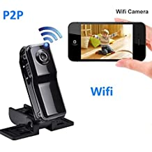 Mini Wireless Hidden Camera SACAM Rechargeable Remote Surveillance Wifi IP Camera for Android/IOS/PC