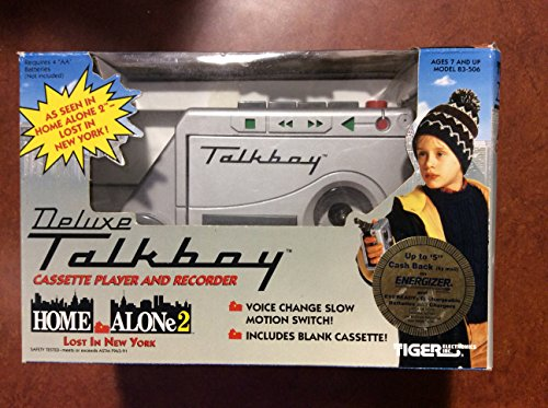 Talkboy Tape Recorder and Player As Seen in Home Alone II (Tiger Electronics 1992)