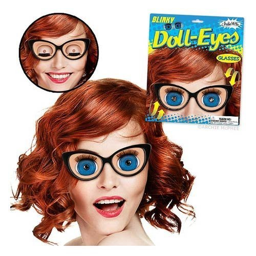 Archie McPhee - Blinky Doll-eyes - http://coolthings.us