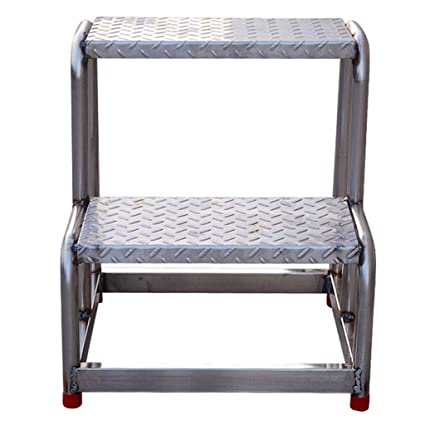 Stupendous Amazon Com Stainless Steel Step Stool Platform Bench Gmtry Best Dining Table And Chair Ideas Images Gmtryco