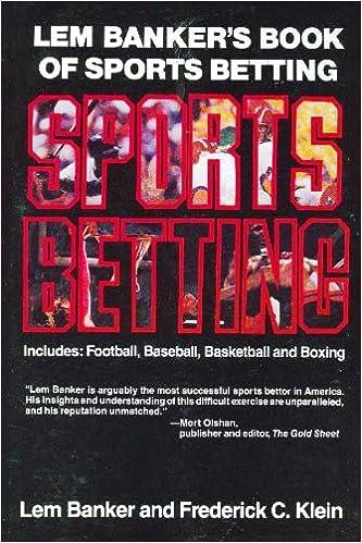 Lem Banker's Book of Sports Betting: Lem Banker, Frederick C