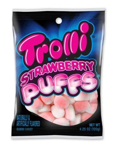 (Trolli Strawberry Puffs (Pack of 2))