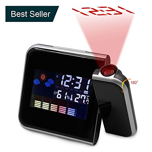 sharp 1 red led dual alarm clock - 6