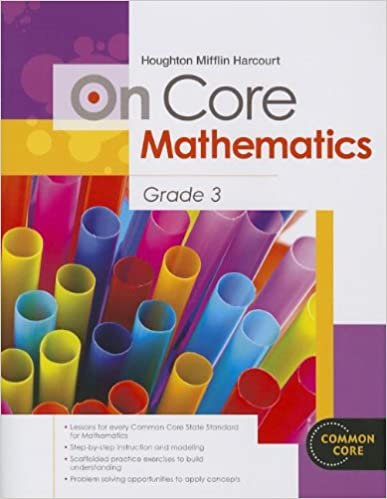 Houghton mifflin harcourt on core mathematics student workbook houghton mifflin harcourt on core mathematics student workbook grade 3 1st edition fandeluxe Gallery