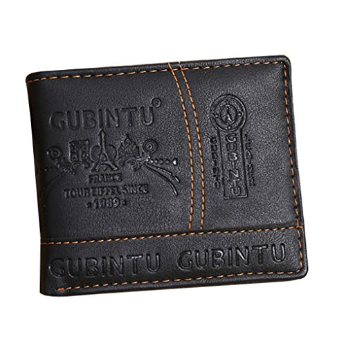 Outtop Fashion Wallet Bifold Black