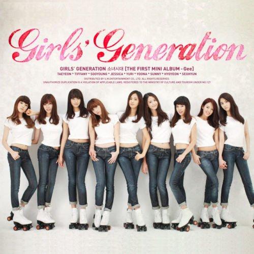 SNSD GIRLS' GENERATION [GEE] 1st Mini Album CD+Photobook+Tracking Number K-POP SEALED