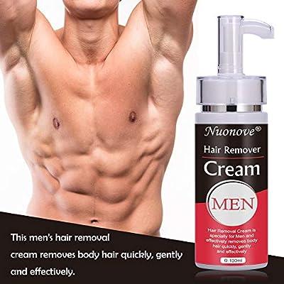 Hair Removal Cream, Crema Depilatoria, Crema Depilatoria Hombre, Bikini, Antebrazo, Depilación hombre, deja la piel suave, Extra Suave Hecha Para Hombres, 100ml: Amazon.es: Belleza