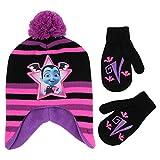 Disney Girls' Toddler Vampirina Hat and Mittens Cold Weather Set,