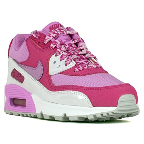 Nike Air Max 90 Mesh GS Girls Youth Womens Running Shoes 724855-001