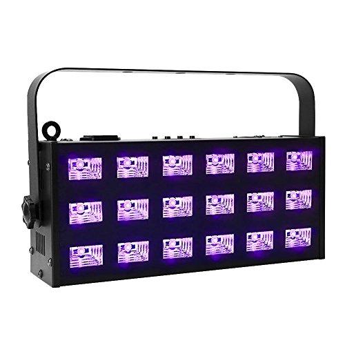 oppsk-blacklight-18led-x-3-watt-7ch-dmx512-metal-strobe-uv-light