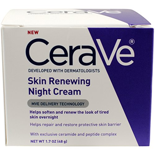 CeraVe Renewing System, Skin Renewing Night Cream, 1.7 Ounce (Peptide Cream compare prices)