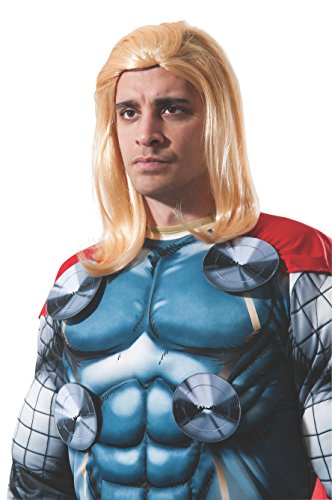 Marvel Rubie's Men's Universe Adult Thor Wig, Multi, One Size